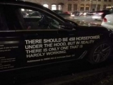 Владелец BMW оригинально пожаловался на свой автомобиль