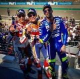 Маркес воспользовался сходом Лоренсо и выиграл Гран-при Арагона